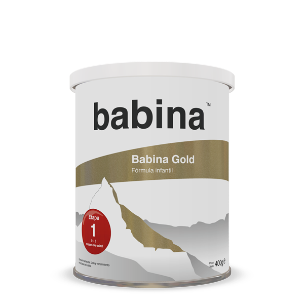 Babina Gold, step 1, 400 g tin, infant formula