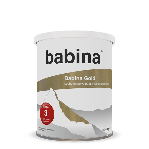 Babina Gold, step 3, 400 g tin, growing-up formula