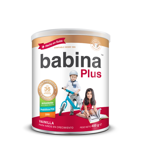 Babina Plus, 400 g tin, milk drink for growing childern